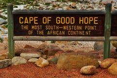 Zuid-Afrika, Westelijke Kaap, Kaapschiereiland Royalty-vrije Stock Foto's