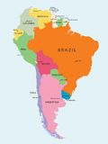 Zuid-Amerika Stock Fotografie