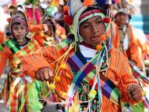 Zuid-Amerika - Bolivië, de Fiesta van Sucre royalty-vrije stock foto