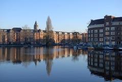 Zuid- Amsterdam Royalty-vrije Stock Foto