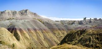 Zuid- Dakota Badlands Royalty-vrije Stock Afbeeldingen