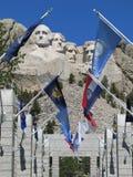 Zuid- Dakota - zet Rushmore op Stock Afbeeldingen
