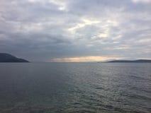 Zuid-Evvoia, eiland Griekenland Stock Foto