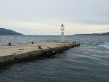 Zuid-Evvoia, eiland Griekenland Stock Afbeeldingen