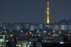 Zuid-Korea, Daegu-toren royalty-vrije stock fotografie