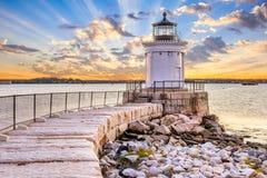 Zuid-Portland, Maine, de V.S. stock foto's