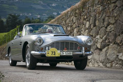 Zuid-Tirol klassieke cars_2014_Aston Martin DB 4 C Stock Fotografie