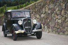 Zuid-Tirol klassieke cars_2014_Fiat 508 Balilla Stock Fotografie