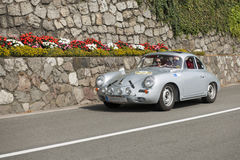 Zuid-Tirol Rallye 2016_Porsche 356 Carrrera GT Royalty-vrije Stock Afbeelding