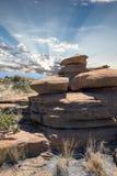 Zuidafrikaans bergheiligdom stock afbeelding