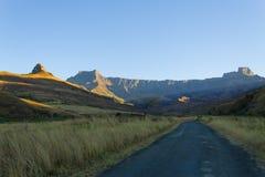 Zuidafrikaans oriëntatiepunt, Amphitheatre van Koninklijke Natal National P Royalty-vrije Stock Afbeeldingen