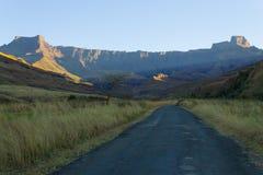 Zuidafrikaans oriëntatiepunt, Amphitheatre van Koninklijke Natal National P Royalty-vrije Stock Foto's