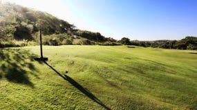 Zuidafrikaanse Golfcursus Stock Foto's