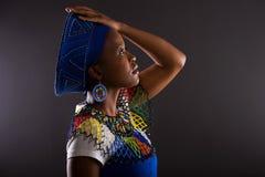 Zuidafrikaanse vrouw Royalty-vrije Stock Foto