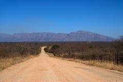 Zuidafrikaanse Weg royalty-vrije stock afbeeldingen