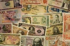 Zuidamerikaans geld stock afbeeldingen