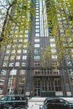 Zuidas в Амстердаме стоковое изображение