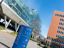 Zuidas business disctrict in Amsterdam, Netherlands Stock Photography