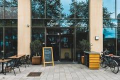 Zuidas de Loetje de restaurant, Parnassusweg Amsterdam photos libres de droits