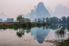 Zuidelijk China in de lente Stock Foto