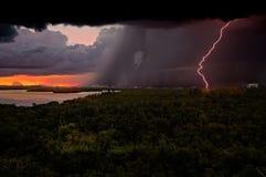 Zuidelijk extreem onweer Stock Fotografie