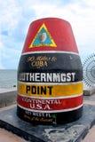 Zuidelijk punt in de V.S. Royalty-vrije Stock Foto