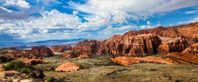 Zuidelijk Utah Stock Foto