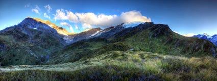 Zuidelijke Alpen, Nieuw Zeeland Stock Afbeelding