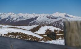 Zuidelijke Alpen, Nieuw Zeeland in de winter. Royalty-vrije Stock Foto's