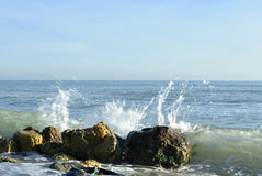 Zuidelijke kust Royalty-vrije Stock Foto's