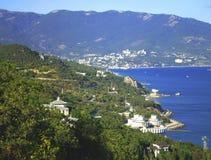 Zuidelijke kust van de Krim Stock Foto