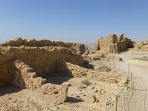 Zuidelijke vesting op Onderstel Masada royalty-vrije stock afbeeldingen
