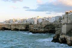 Zuiden Adriatische kustlijn Royalty-vrije Stock Foto's