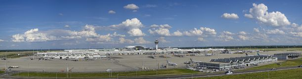 Zuiden, Duitsland, bovenleer, Beieren, München, kapitaal, oriëntatiepunt, oriëntatiepunten, toerisme, reis, luchthaven, Franz-Jos Royalty-vrije Stock Foto's