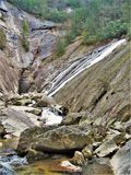 Zuiden Harper Creek Falls royalty-vrije stock fotografie