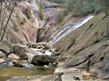 Zuiden Harper Creek Falls royalty-vrije stock foto's