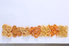 Zuiden Indische snacks stock foto