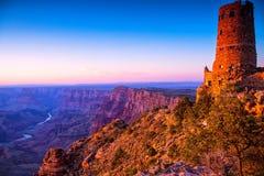 Zuiden Rim Ground Canyon Royalty-vrije Stock Afbeelding