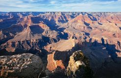 Zuiden Rim Views in Grand Canyon Stock Afbeelding