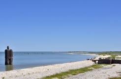 Zuiden Texas Seascape Stock Fotografie