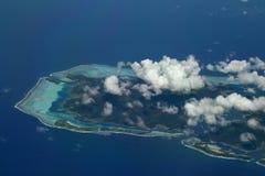 Zuiden van huahineeiland Royalty-vrije Stock Fotografie