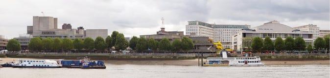 Zuidenbank Londen Stock Afbeelding