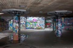 Zuidenbank SkatePark Royalty-vrije Stock Foto