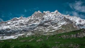 Zuidengezicht van Matterhorn Royalty-vrije Stock Afbeeldingen