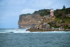 Zuidenhoofd, Sydney Coast Royalty-vrije Stock Foto