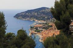 Zuidenkust van Frankrijk Royalty-vrije Stock Foto's