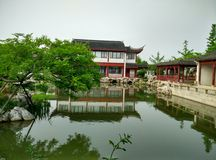 Zuidenmeer in het jiaxing, zhejiang provincie, China, in 2015 Royalty-vrije Stock Foto