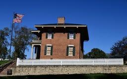 Zuidenmening van Ulysses S Grant House stock foto