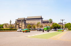 Zuidenpoort towe in Xian Stock Foto