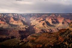 Zuidenrand van Grand Canyon dichtbij Helder Angel Lodge royalty-vrije stock foto